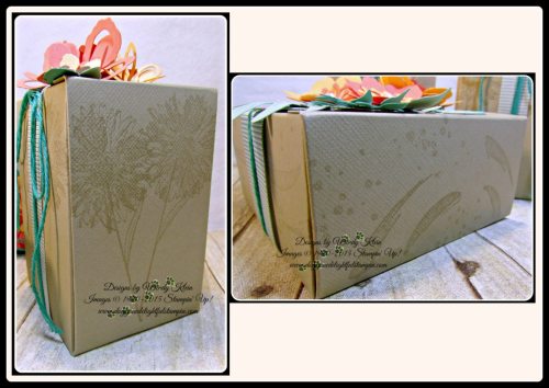 Botanical Blooms & Builders framelits, Touches of Texture, Painters Palette, Gift Box Punch Board (8)