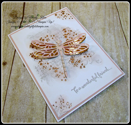 Dragonfly Dreams, Timeless Textures, Detailed Dragonfly Thinlits (15)