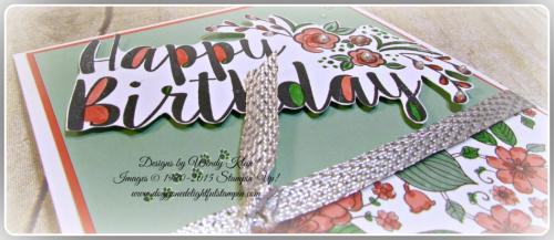 Big on Birthdays, Outside the Lines, Metallic Ribbon (5)