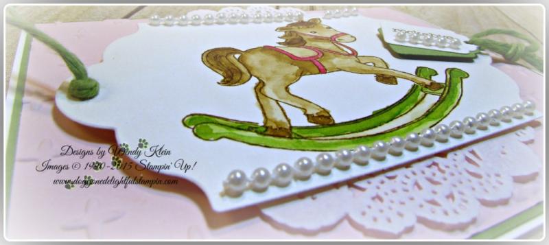 Little Cuties  Sparkle TIEF  Lots of Label Framelits  Tags & Labels Framelits  Wendy Klein  Stampin Up (5)