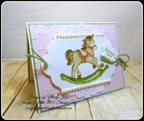 Little Cuties  Sparkle TIEF  Lots of Label Framelits  Tags & Labels Framelits  Wendy Klein  Stampin Up (2)