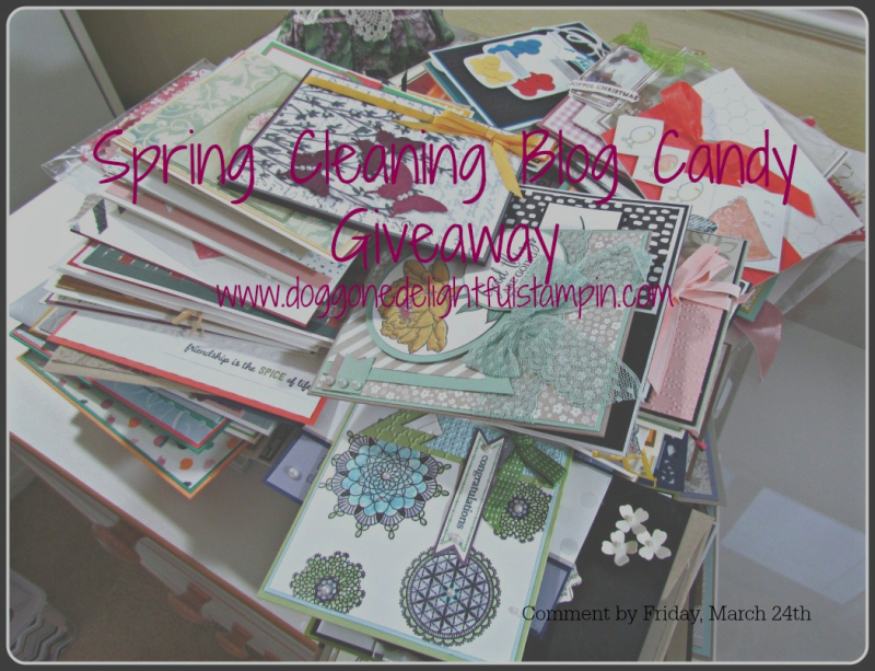 Blog Candy Card Giveaway