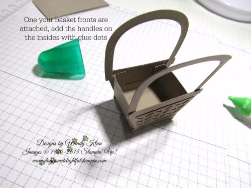 Mini Easter Basket - Basket Bunch  Basket Builder Framelits (7)