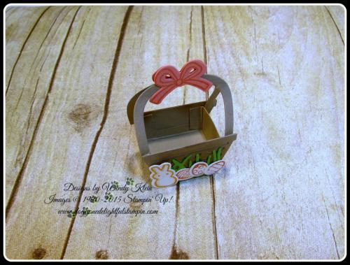 Mini Easter Basket - Basket Bunch  Basket Builder Framelits (8)