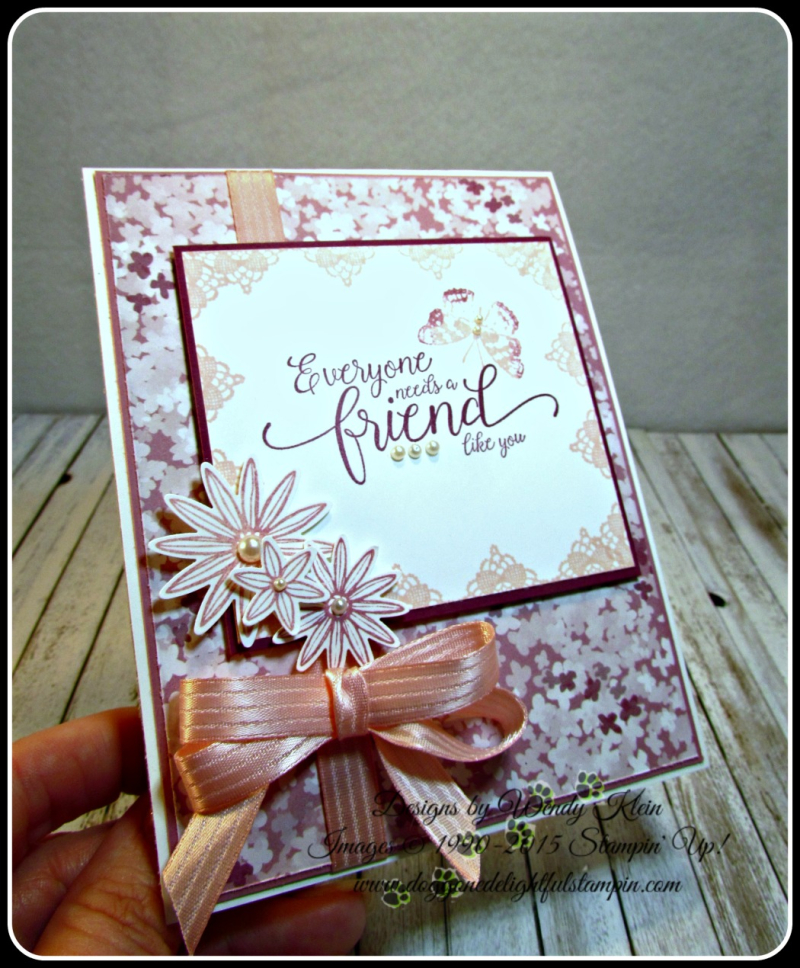 Grateful Bunch  Suite Sentiments  Blossom Bunch Punch  Blooms & Bliss DSP  Blushing Bride Satin Ribbon  Pearls (7)