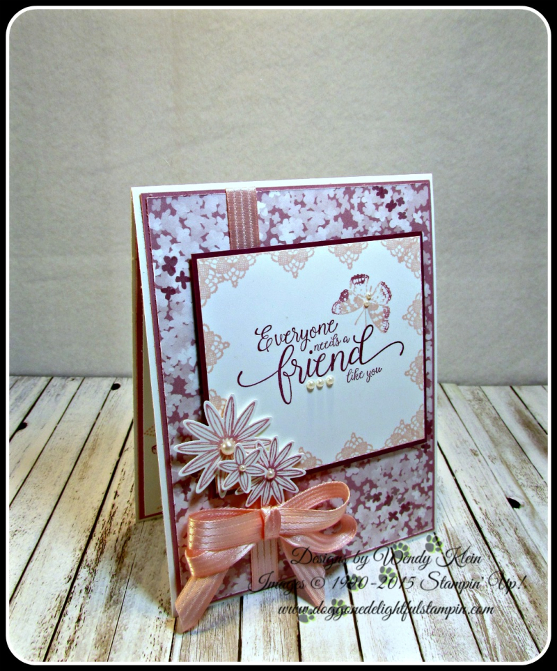 Grateful Bunch  Suite Sentiments  Blossom Bunch Punch  Blooms & Bliss DSP  Blushing Bride Satin Ribbon  Pearls (8)