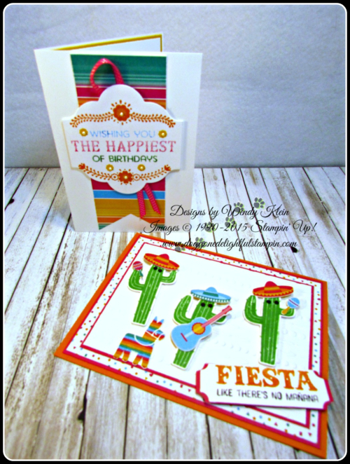 Birthday Fiesta  Fiesta Time Framelits  Festive TIEF  Triple Banner Punch  Lots of Labels Framelits (7)
