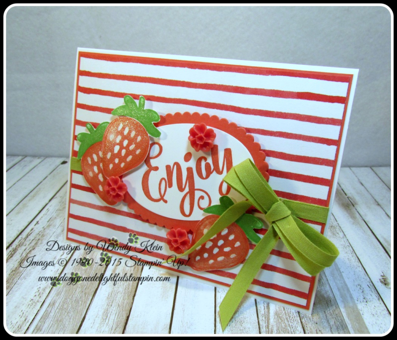 Fresh Fruit  Everyday Tags  Sweet Cupcake  Layering Ovals  Wink if Stella  In Color (6)