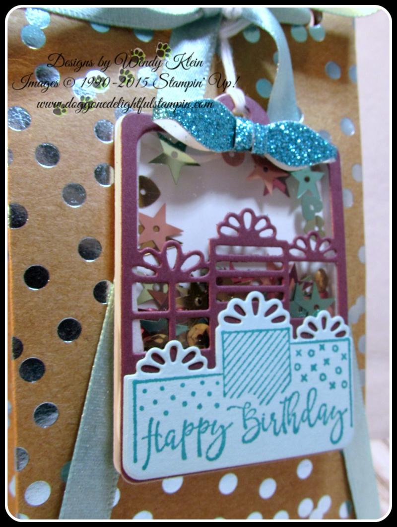 Celebration Time  Celebration Thinlits  Foil Frenzy  Bag Punch Board (2)