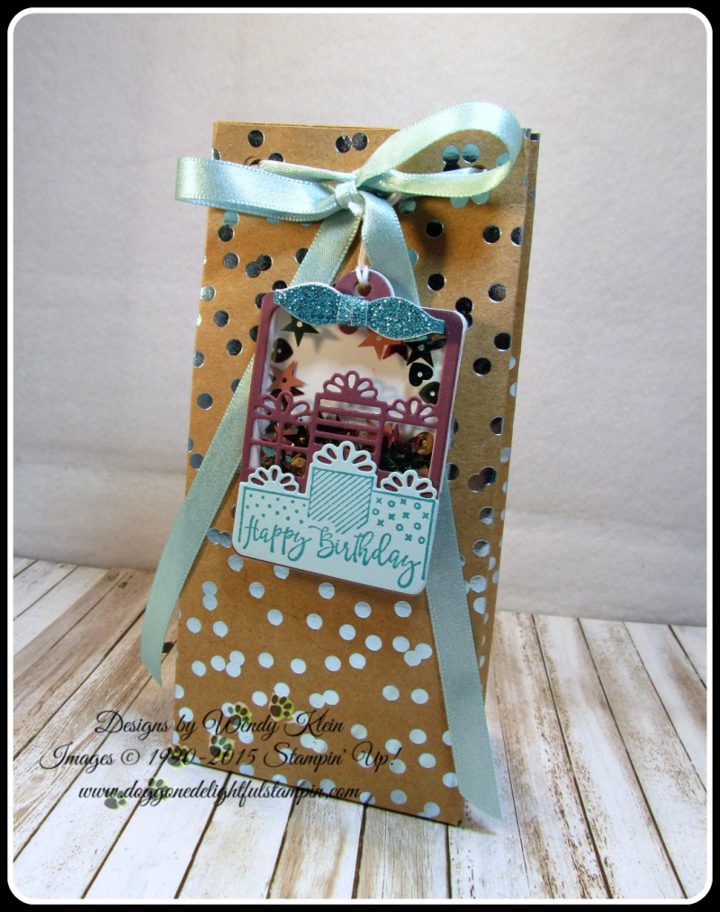 Celebration Time  Celebration Thinlits  Foil Frenzy  Bag Punch Board (3)