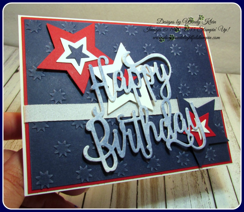 Happy Birthday thinlit  Oh My Stars TIEF  Stars framelits  Confetti Celebration  Whisper White classic weave ribbon (6)