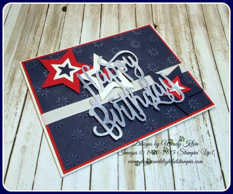 Happy Birthday thinlit  Oh My Stars TIEF  Stars framelits  Confetti Celebration  Whisper White classic weave ribbon (3)