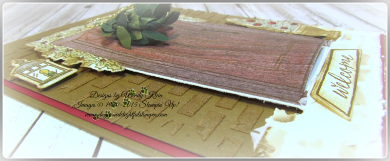 At Home With You  At Home Framelits  Embossing Paste  Wood Textures DSP  Boxwood Wreaths - 5