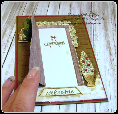 At Home With You  At Home Framelits  Embossing Paste  Wood Textures DSP  Boxwood Wreaths - 4
