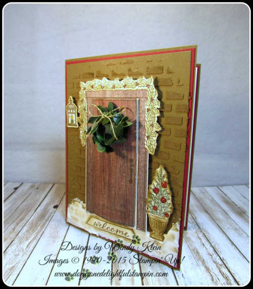 At Home With You  At Home Framelits  Embossing Paste  Wood Textures DSP  Boxwood Wreaths - 2