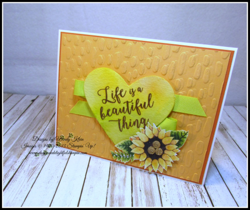 Colorful Seasons  Sweetheart TIEF  Sweet & Sassy Framelits  Painted Autumn DSP  Just Add Text  Copper ep - 5