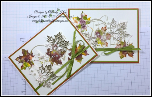 FALL Tone-On-Tone Card Tutorial
