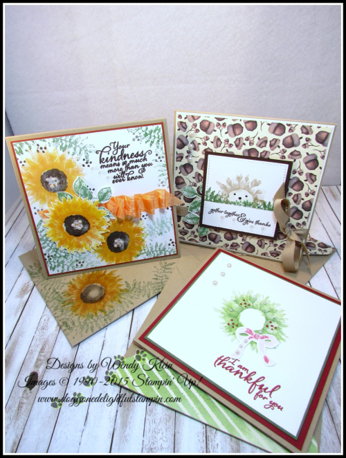 Painted Harvest  Painted Autumn DSP  Leaf Punch  Layering Squares  Stitched Shapes  Pearls - 1