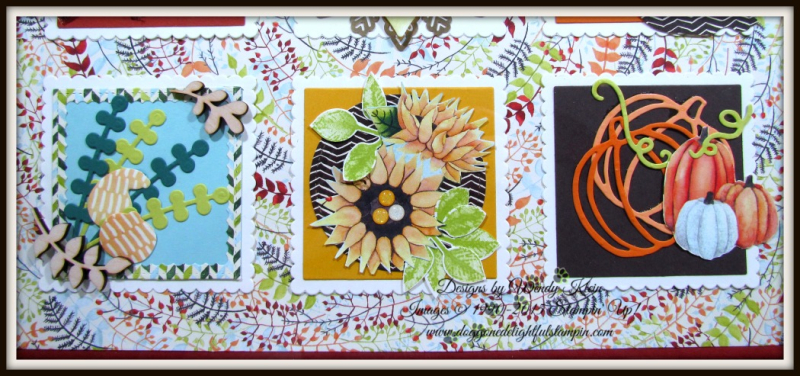 Painted Harvest Colorful Seasons Sampler - 3