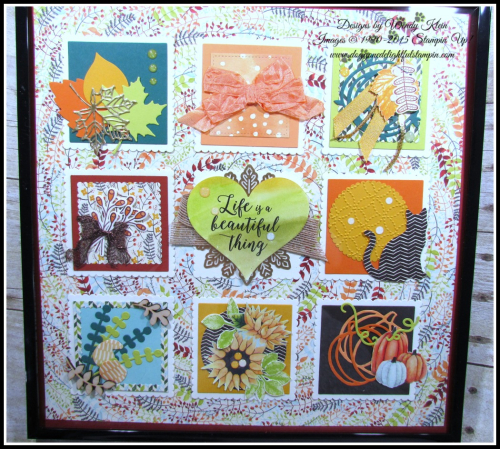 Painted Harvest Colorful Seasons Sampler - 6
