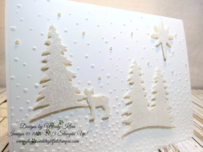 Card Front Builder  Softly Falling TIEF  Bethlehem Edgelits  Night in Bethlehem  Dazzling Diamonds Glimmer  Pearls - 2