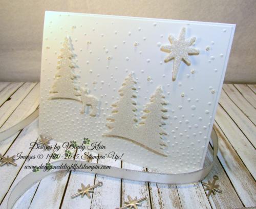 Card Front Builder  Softly Falling TIEF  Bethlehem Edgelits  Night in Bethlehem  Dazzling Diamonds Glimmer  Pearls - 6