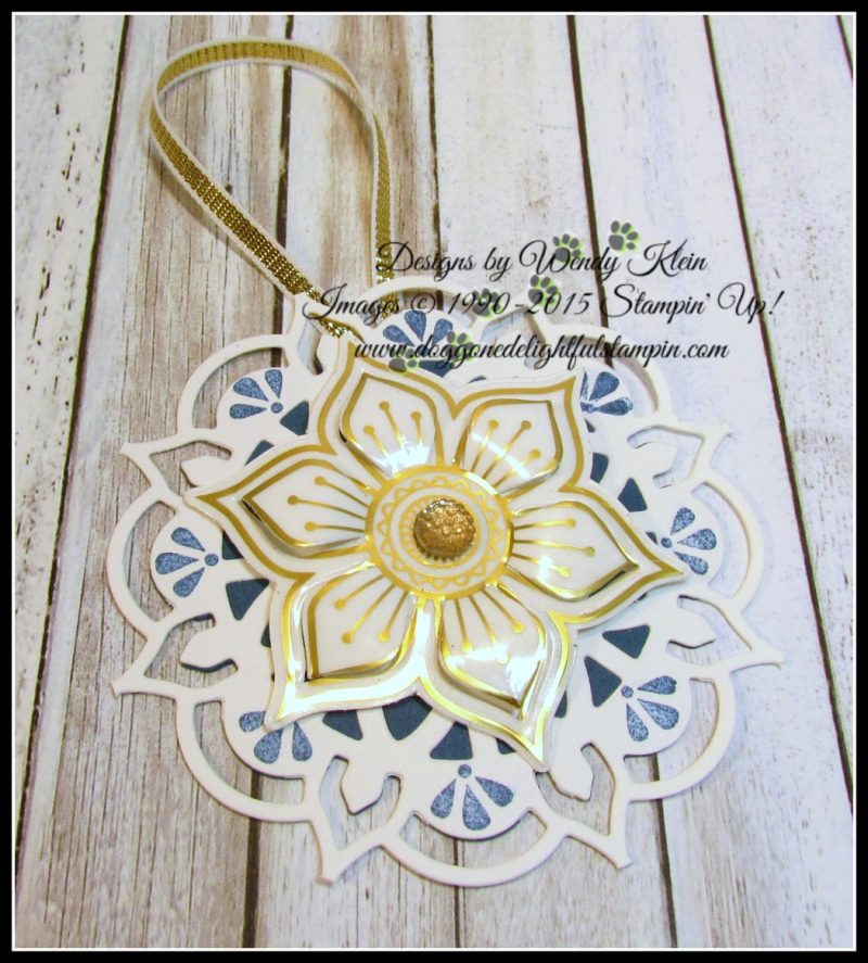 Eastern Medallions Ornaments - 5