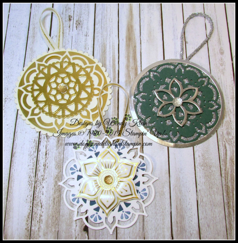 Eastern Medallions Ornaments - 2