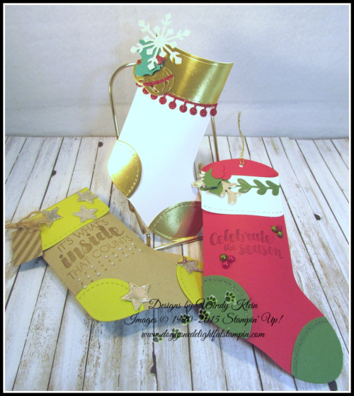 Trim Your Stocking  Tags & Trimmings - 1