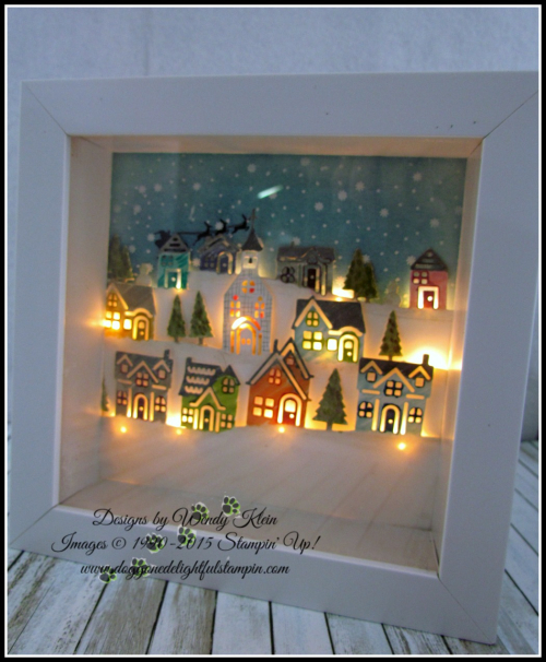 Hometown Greetings Edgelits  Hearts Come Home  Shadowbox Frame - 3