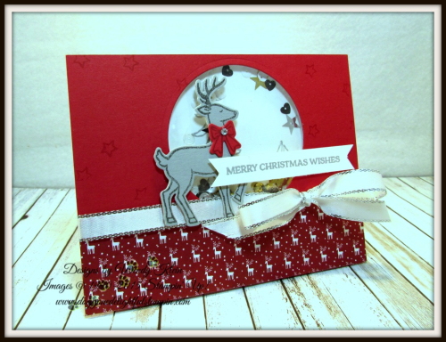 Santa's Sleigh Shaker Card CASE - 1