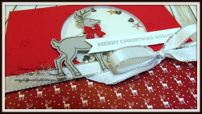 Santa's Sleigh Shaker Card CASE - 3