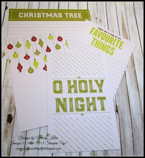 Merry Little Christmas Memories & More - designs by Doggone Delightful Stampin - 6