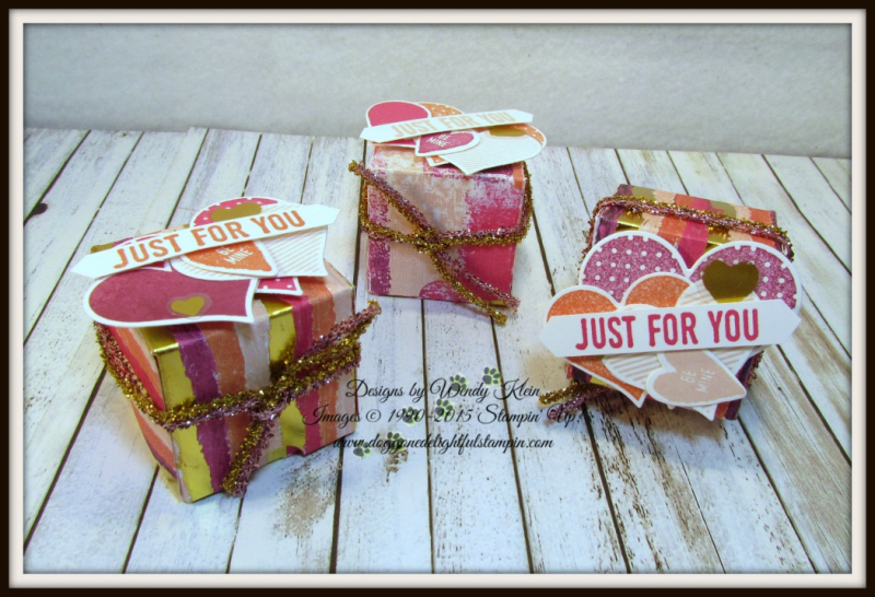 Painted With Love Diagonal-Lidded Treat Box - 1