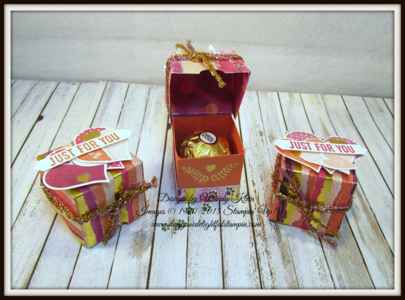 Painted With Love Diagonal-Lidded Treat Box - 2