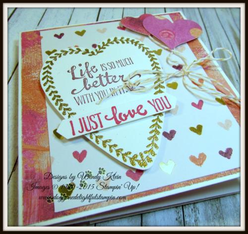 Backwards Z-Fold Valentine - 5