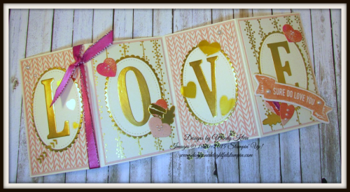 Sure Do Love You  Lots to Love Box Framelits  Large Letters Framelits  Stitched Shapes Framelits  Layering Ovals Framelits  Bundle of Love SDSP  Painted With Love SDSP - 4