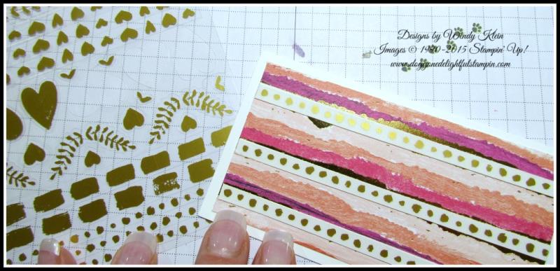 Painted Love Notecard sample