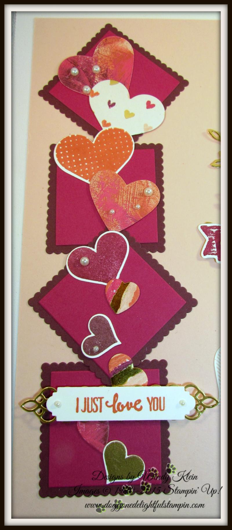 Sure Do Love You Valentine's Sampler - 3