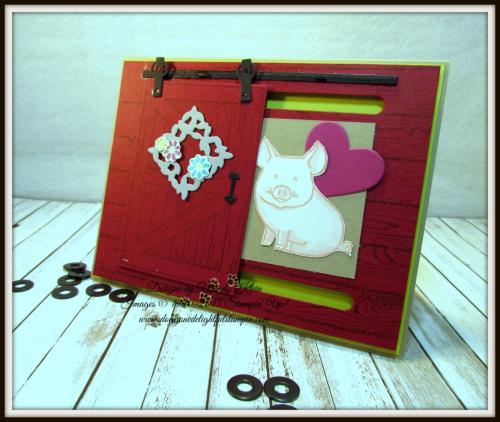 Barn Door Bundle  This Little Piggy  Hardwood  Layering Love - 1
