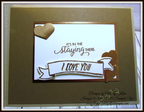 Masculine Valentine with Sliding Door Framelits  Lots to Love Box Framelits  Pinewood Planks Dynamic TIEF  Gold emboss powder  Copper emboss powder - 6