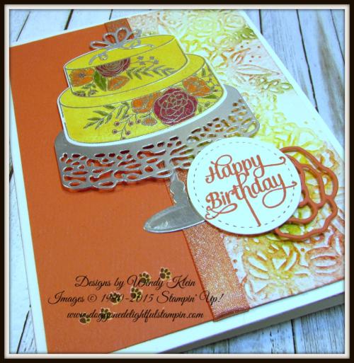 Cake Soiree  Sweet Cake Framelits  Stitched Shapes Framelits  Petal Pair TIEF  Shimmer Ribbon - 5