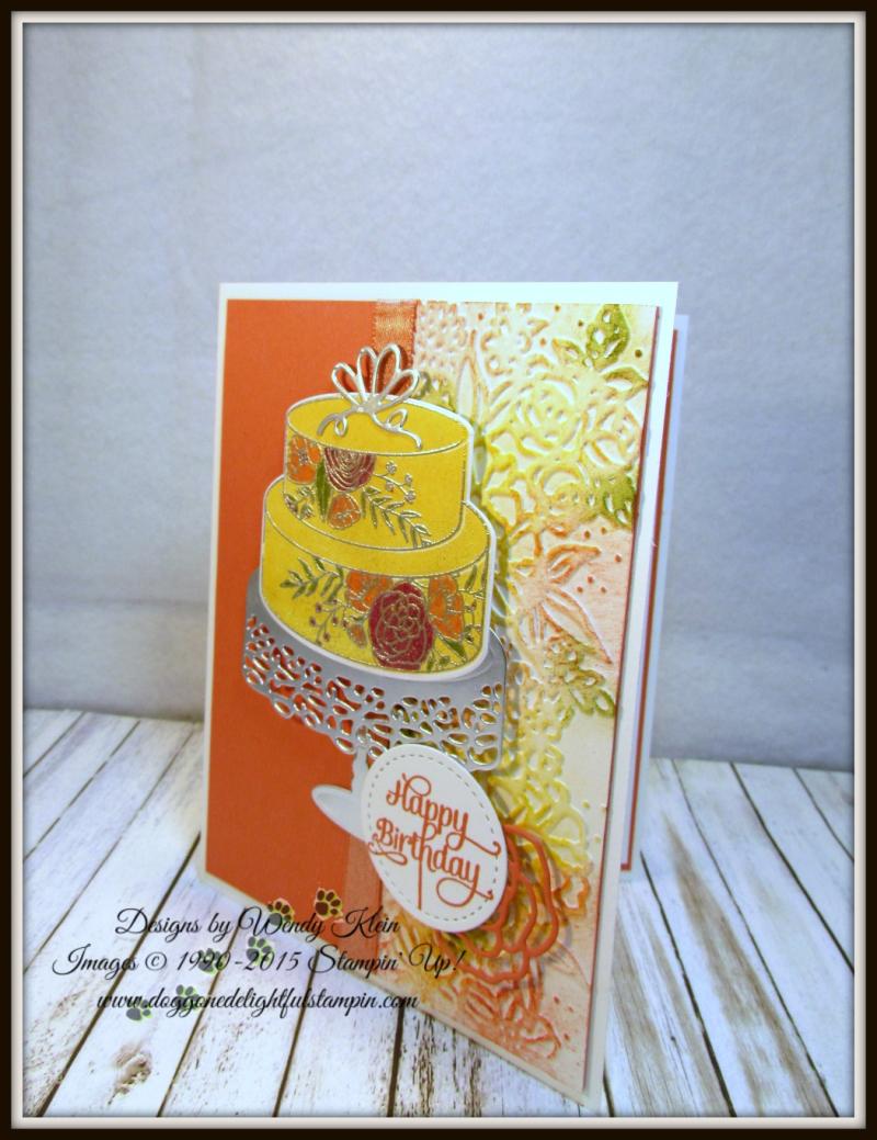 Cake Soiree  Sweet Cake Framelits  Stitched Shapes Framelits  Petal Pair TIEF  Shimmer Ribbon - 2