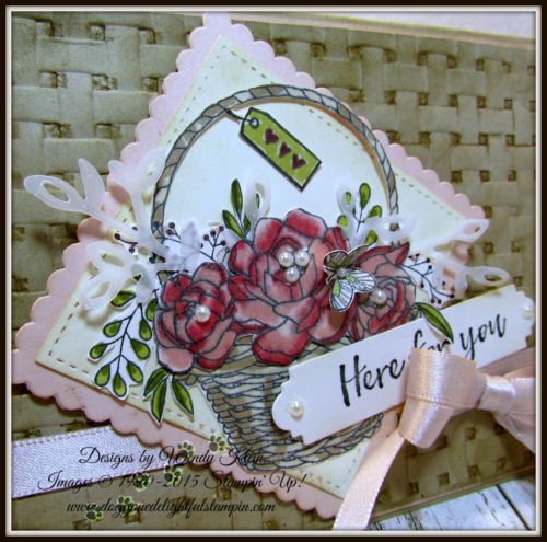 Blossoming Basket  Petals & More Thinlits  Layeirng Squares  Stitched Shapes Framelits  Stampin' Blends - 2