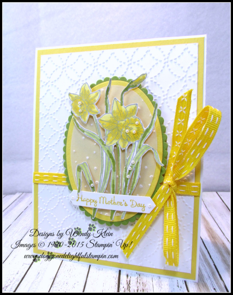 Youre Inspiring  Layering Ovals   Softly Falling TIEF  Quilt Top TIEF  Stampin Blends - 1