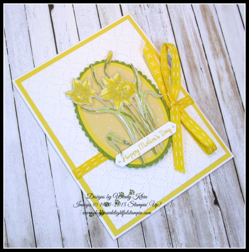 Youre Inspiring  Layering Ovals   Softly Falling TIEF  Quilt Top TIEF  Stampin Blends - 2
