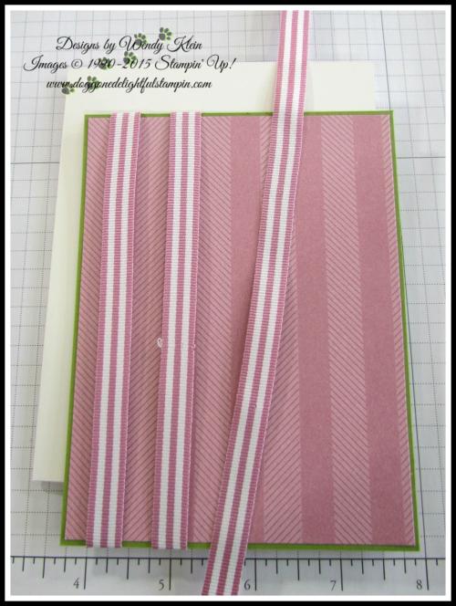 Petal Garden Sweet Sugarplum Ribbon Stripe technique - 1