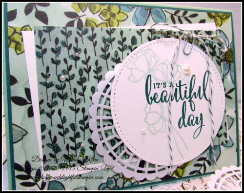 Love What You Do  Share What You Love DSP  Pearlized Doilies  Embellishment Kit  Stitched Shapes Framelits  Pearls - 2