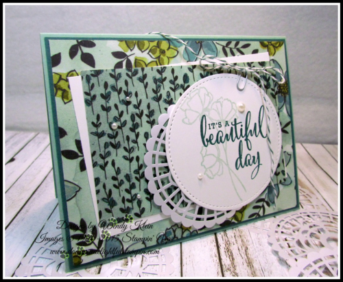 Love What You Do  Share What You Love DSP  Pearlized Doilies  Embellishment Kit  Stitched Shapes Framelits  Pearls - 5