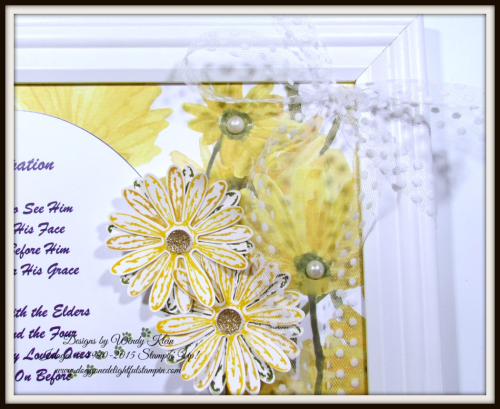 Delightful Daisy  Daisy Punch  Springtime Impressions Thinlits - 7